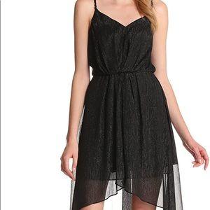 BCBGeneration Black Sparkle High Low dress